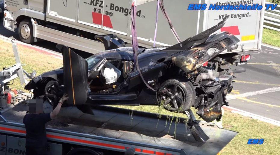 A Koenigsegg se le resiste el Infierno Verde: El accidente del One:1 retrasará los planes…