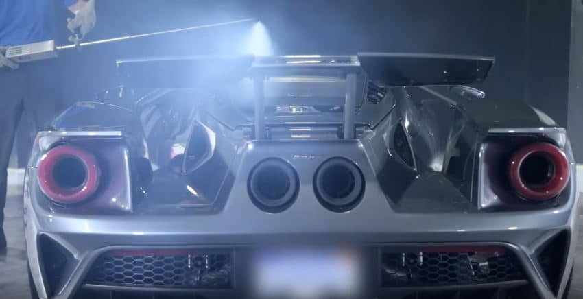 Así afronta la aerodinámica activa del Ford GT vientos de hasta 200 km/h: Escaparate tecnológico
