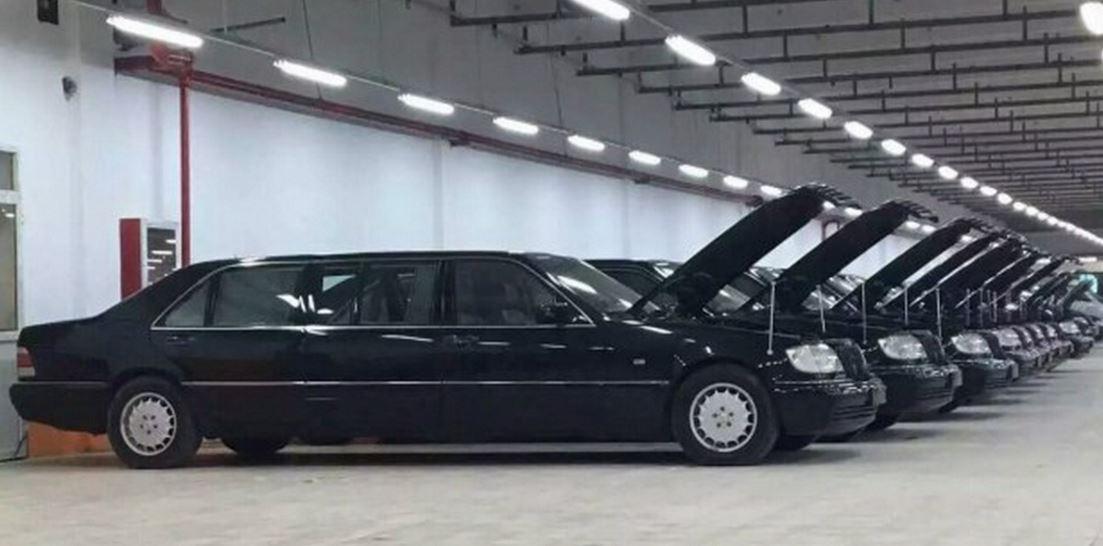 ¡Una ganga!: Si te gustan los Mercedes W140 Pullman te arrepentirás de no haber ido a esta subasta