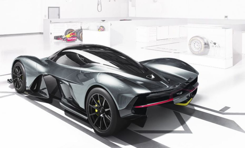 ¡Confirmado! El AM-RB 001 de Aston Martin y Red Bull llevará un motor V12 atmosférico de 900 CV