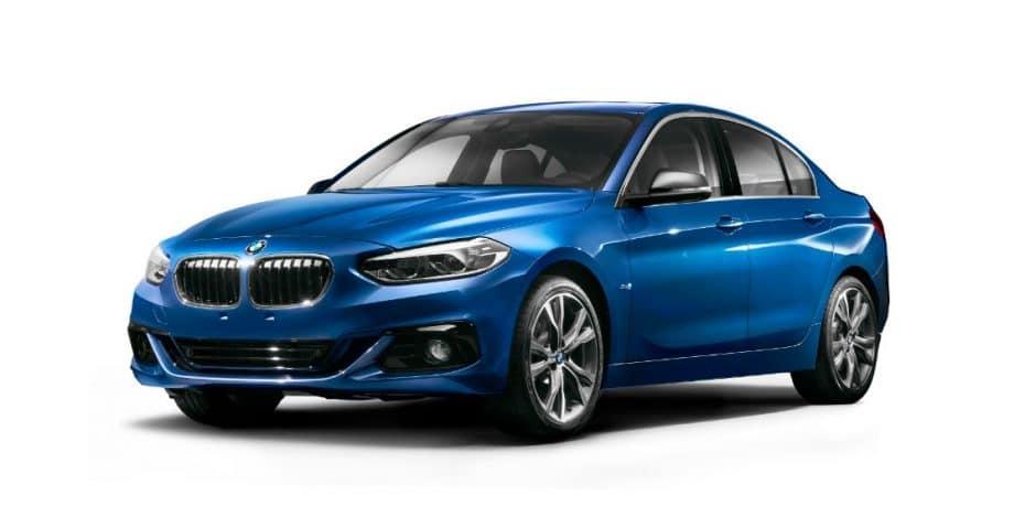 ¡Aquí lo tienes!: Así es el BMW Serie 1 Sedán, el rival del A3 Sedán y del CLA