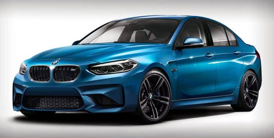 ¿Imaginando un BMW M1 Sedán?: No pinta nada mal y compartiría mucho con el M2 Coupé…