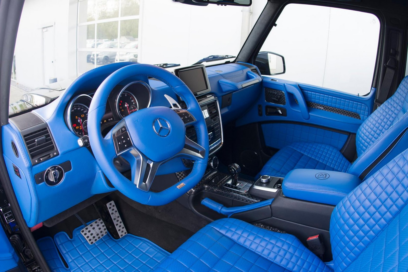 Brabus Mercedes G500 4x4².19