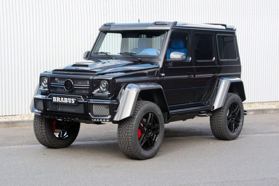 Brabus Mercedes G500 4×4²: El Clase G de Papá Pitufo ¡Ojo a su llamativo interior!