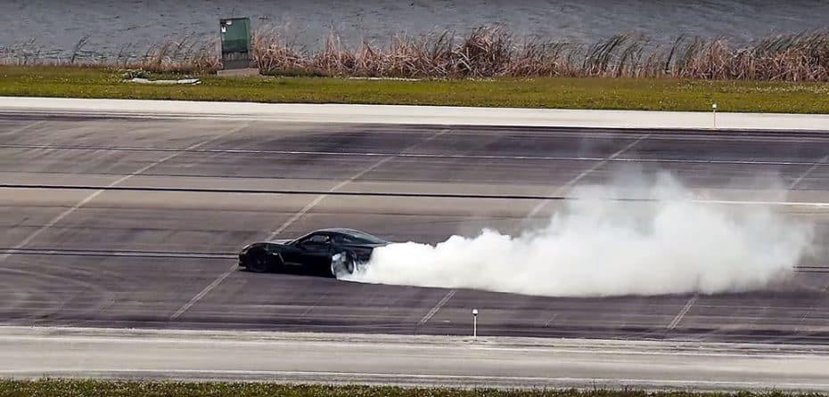 ¿Un Chevrolet Corvette 100% eléctrico? Sí, y con sus 600 CV ostenta el récord de velocidad