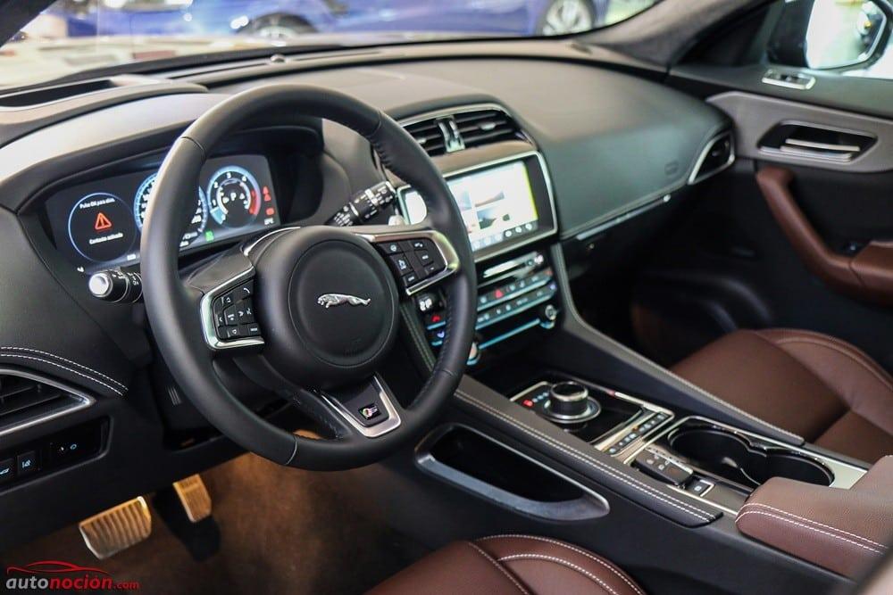 Opini n y prueba jaguar f pace autom tico awd for Interieur jaguar e pace