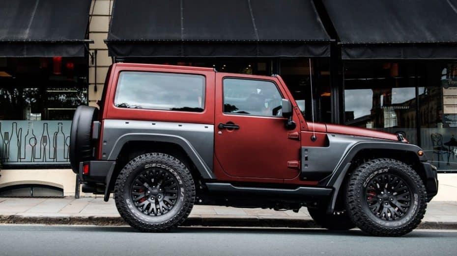 Jeep Wrangler Black Hawk Edition: Un 4×4 puro más capaz, más lujoso, más deseado