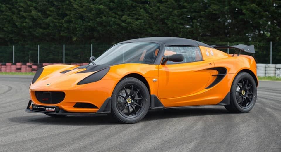 Lotus Elise Race 250: 246 CV y menos de 900 kg solo aptos para divertirse en circuito