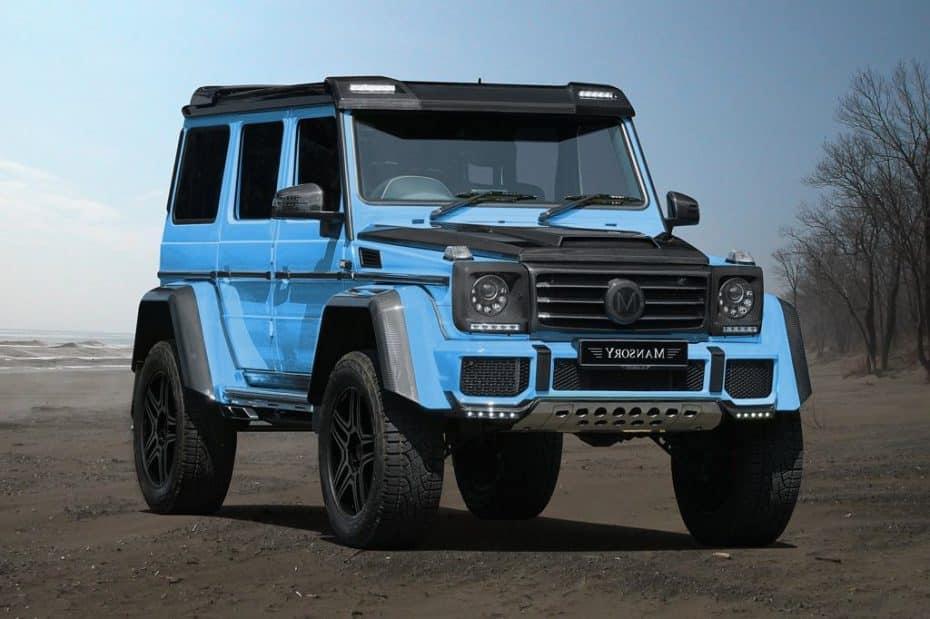 Mansory-Mercedes G500 4×4²: ¡Una bestia al cuadrado!