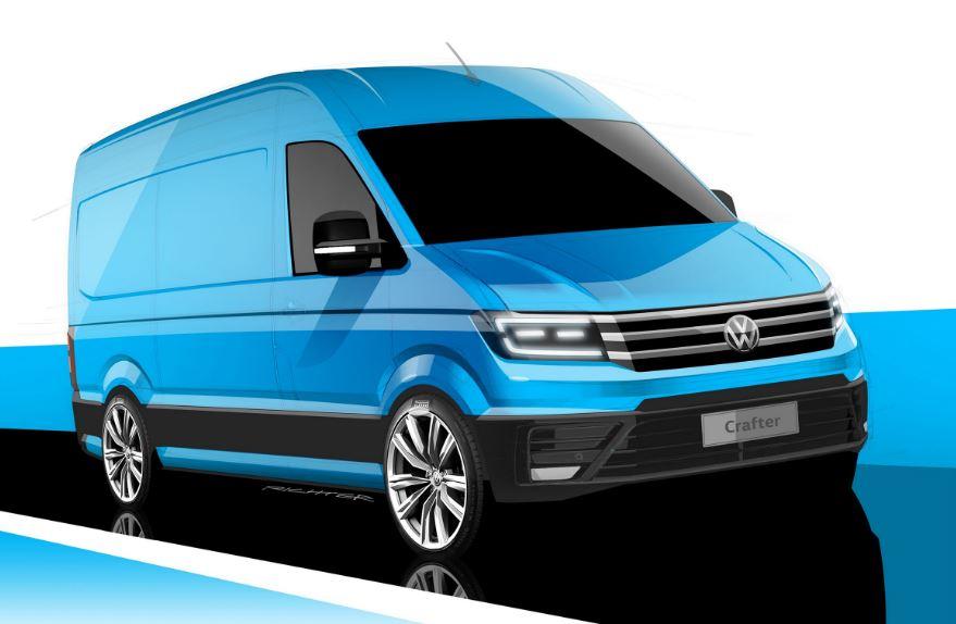 Así es la nueva Volkswagen Crafter: Sí, es nueva, nueva…