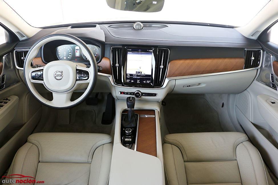 Prueba Volvo V90 30