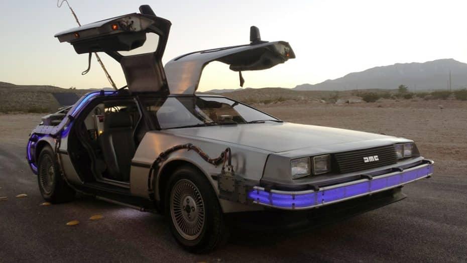 Ojo a esta réplica del DeLorean de 'Regreso al Futuro' ¡Es oficial y está a la venta en eBay!
