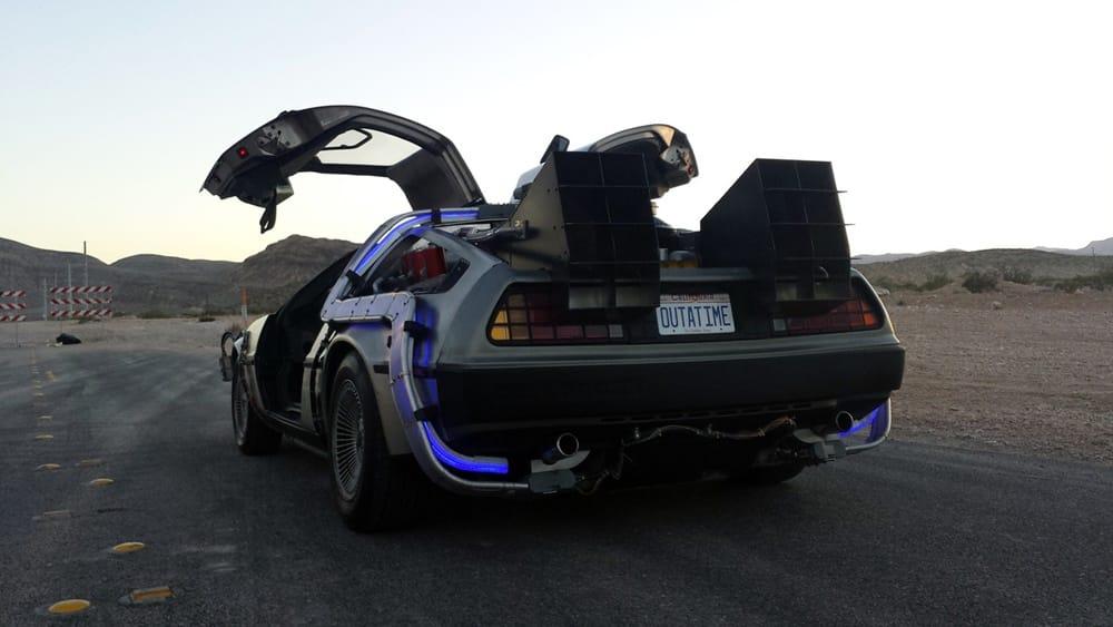 Réplica DeLorean Regreso al futuro (2)