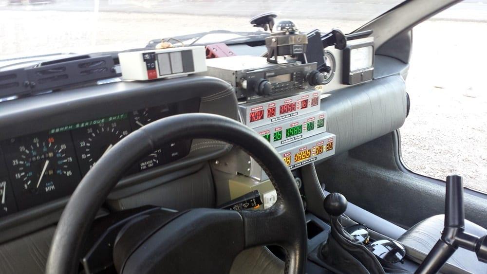 Réplica DeLorean Regreso al futuro (4)