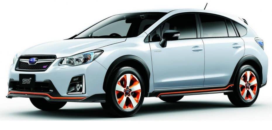 Subaru XV Hybrid tS: El primer híbrido de la marca retocado por STI