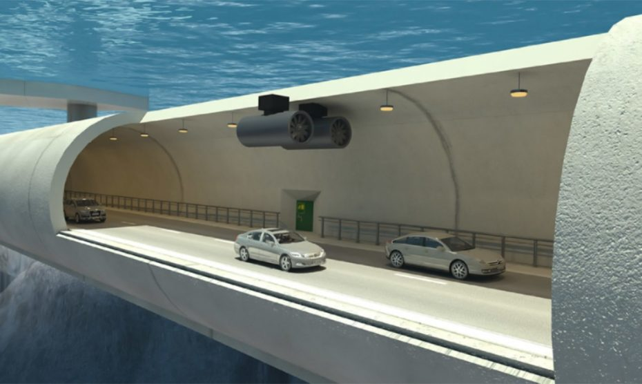 Túneles submarinos flotantes: La mil millonaria apuesta de Noruega para atravesar los fiordos