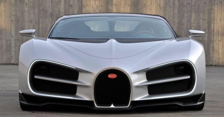 Así debería de haber sido el Bugatti Chiron: Unas líneas alteradas por la técnica y la legislación