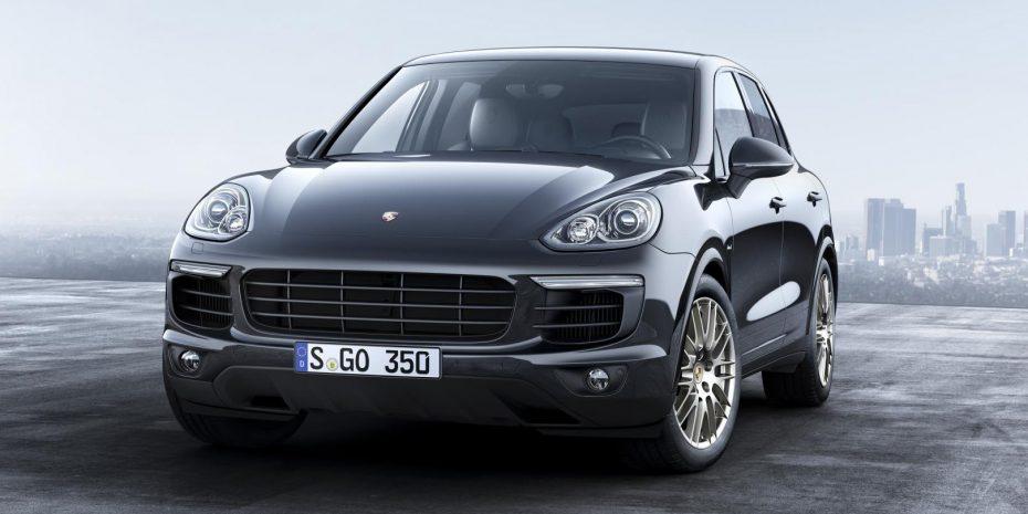 Nueva edición especial «Platinum Edition» para el Porsche Cayenne: A la conquista del segmento
