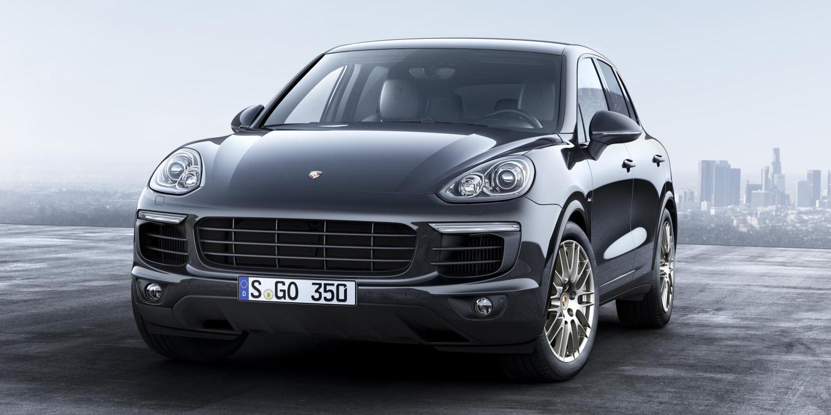 """Nueva edición especial """"Platinum Edition"""" para el Porsche Cayenne: A la conquista del segmento"""