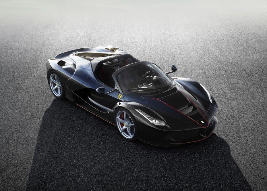 Primeras imágenes del LaFerrari Aperta, la versión spider del súper deportivo italiano