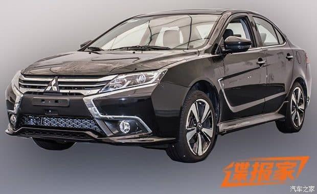 El nuevo Mitsubishi Lancer te dejará frío: De momento para China