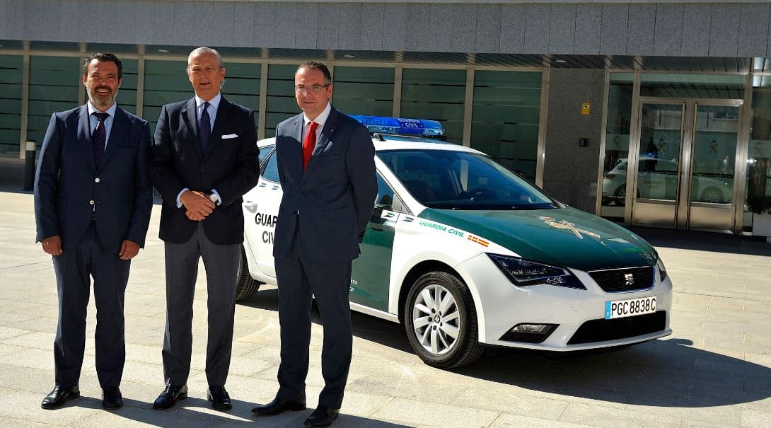 seat león Guardia Civil 1