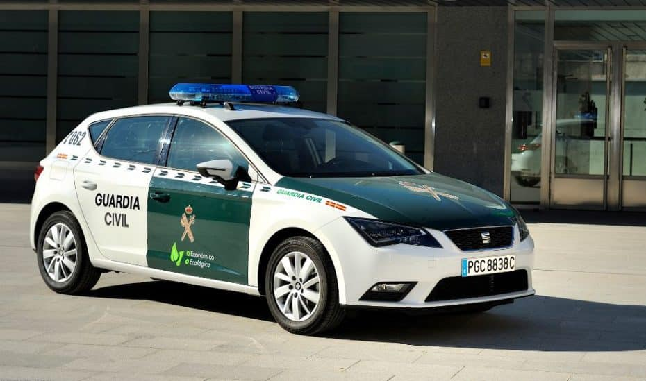 La Guardia Civil irá a todo gas: ¡Un SEAT León 1.4 TSI bicombustible!