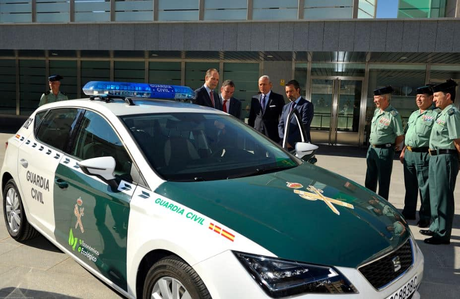 seat león Guardia Civil 2