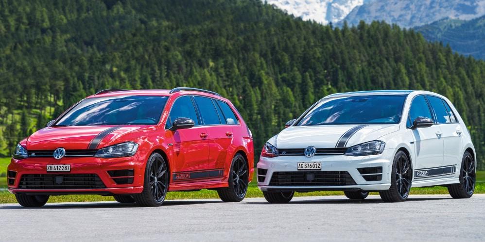 Este es el Volkswagen Golf R360S: Creado por y para los fans suizos