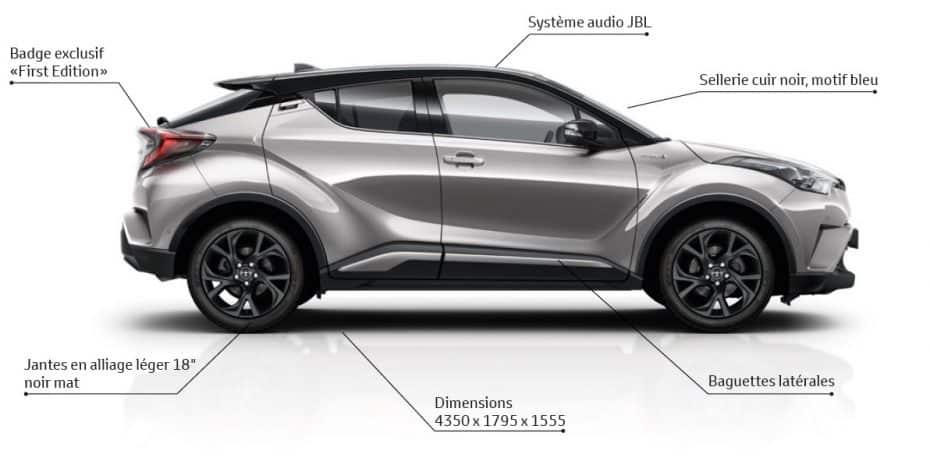 """Toyota lanzará el C-HR """"First Edition"""" en dos semanas: Para algunos mercados europeos"""