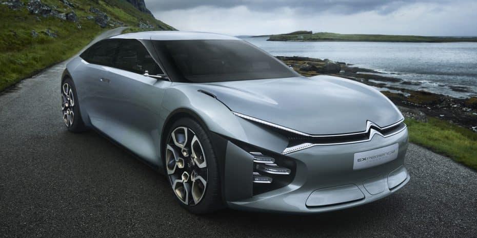 Aquí está el Citroën CXperience Concept: Una berlina de lujo a la francesa