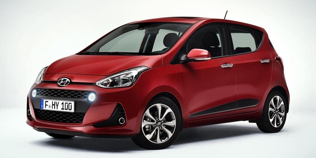 Todos los precios del renovado Hyundai i10 para España