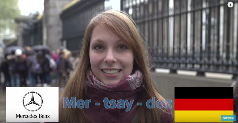 ¡Muy curioso!: Así deberíamos de pronunciar los nombres de las marcas…