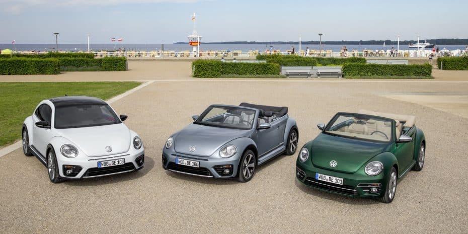 ¡Qué bien le han sentado los cambios! Nuevas imágenes del Volkswagen Beetle 2017