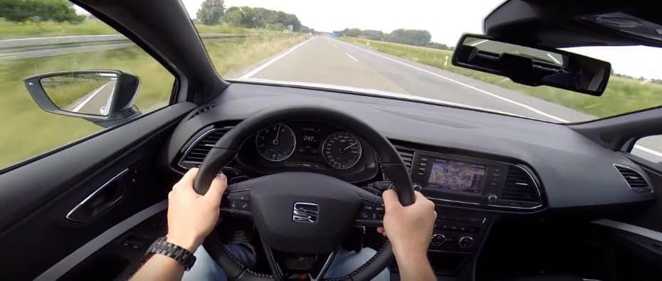 ¿Un castigo de broma?: Cazado el conductor de un SEAT León CUPRA a 247 km/h en Reino Unido