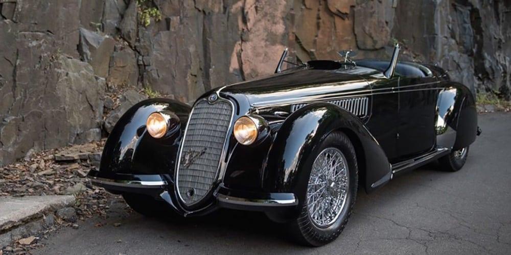 Alfa Romeo 8C 2900B Lungo Spider by Touring 1939
