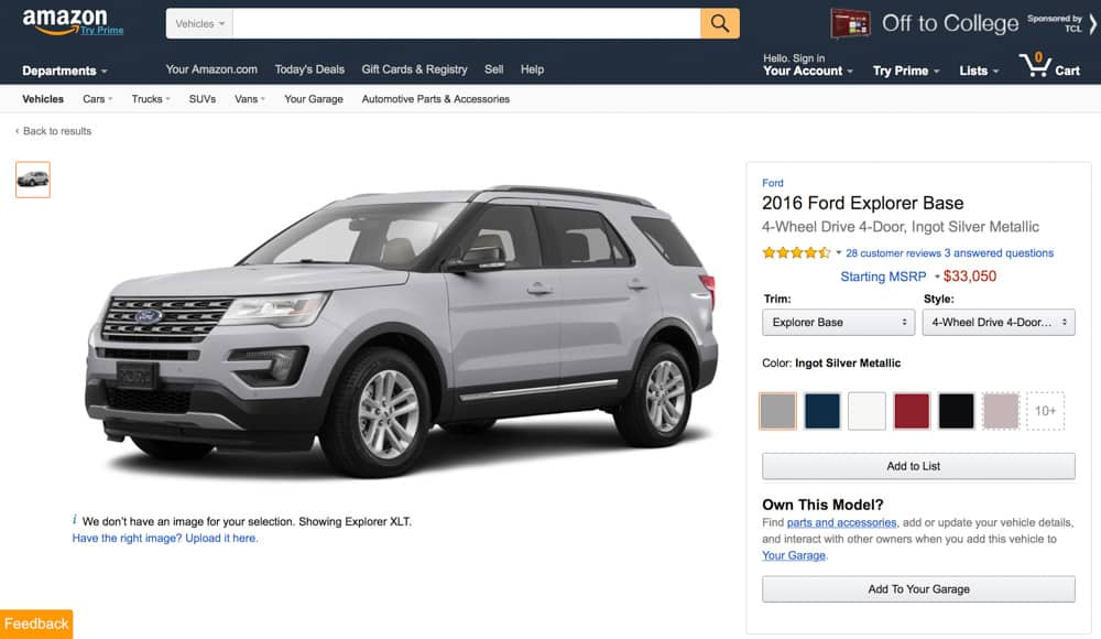 Amazon Vehicles (6)