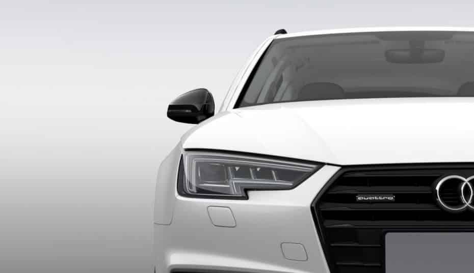 Audi Black line edition: Una pulgada más en las llantas y mucho negro por la mitad de precio