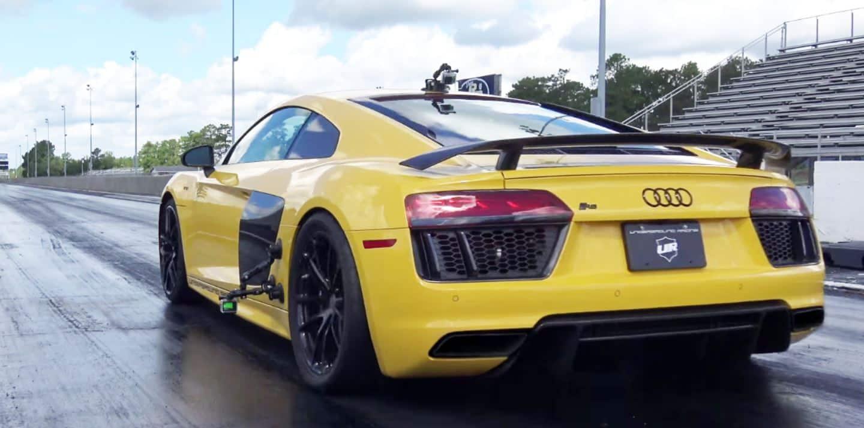 Saluda al Audi R8 V10 Plus más rápido del planeta: Más de 1.250 CV cortesía de Underground Racing