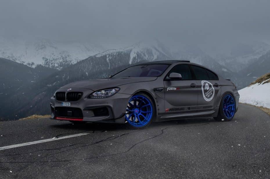 Si la discreción no es lo tuyo, desearás el BMW 650ix Gran Coupé de Fostla con casi 600 CV