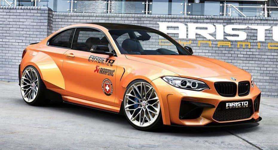 Este BMW M2 Coupé de Aristo Dynamics será el más salvaje del planeta: Aquí un adelanto