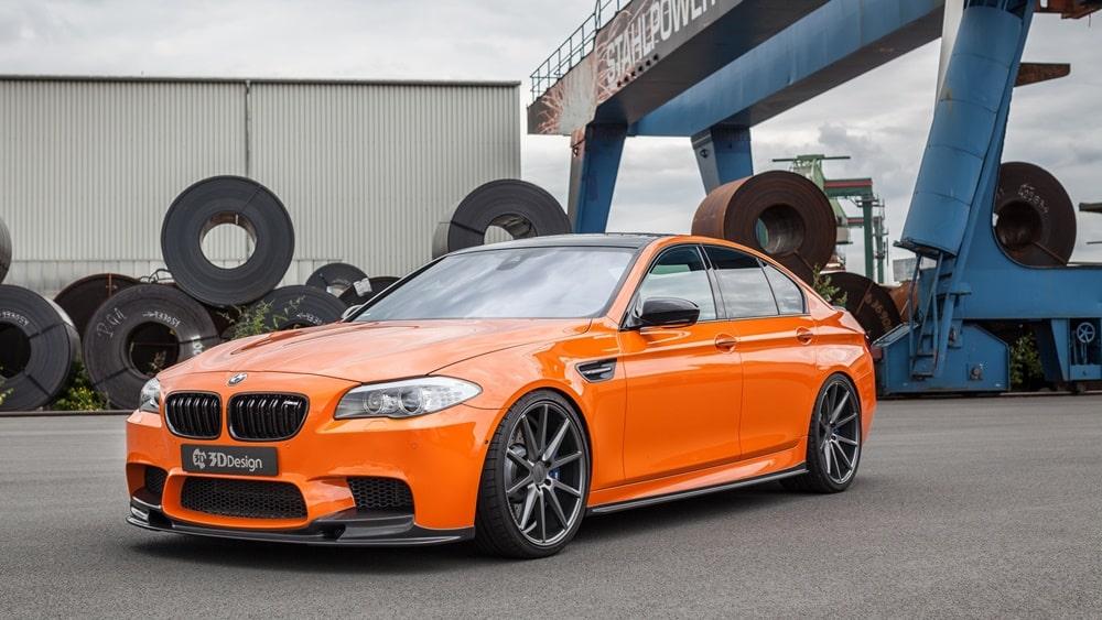 818 CV y una dieta rica en fibra de carbono para uno de los BMW M5 más potentes de la historia