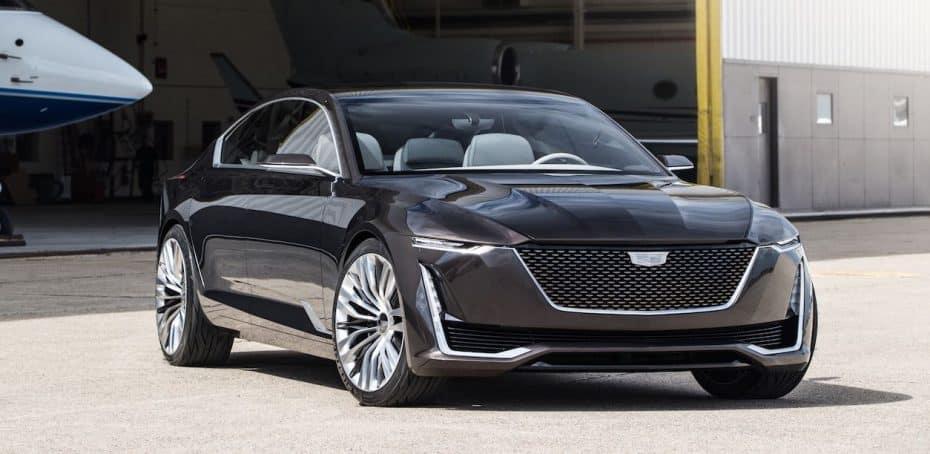¿Qué te parece el nuevo ADN de Cadillac?: Se llama Escala Concept y debuta con un V8 de 4.2 litros