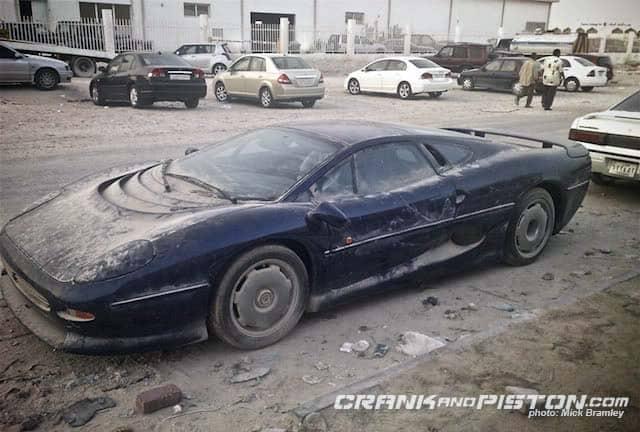 Coches abandonados Dubai.22