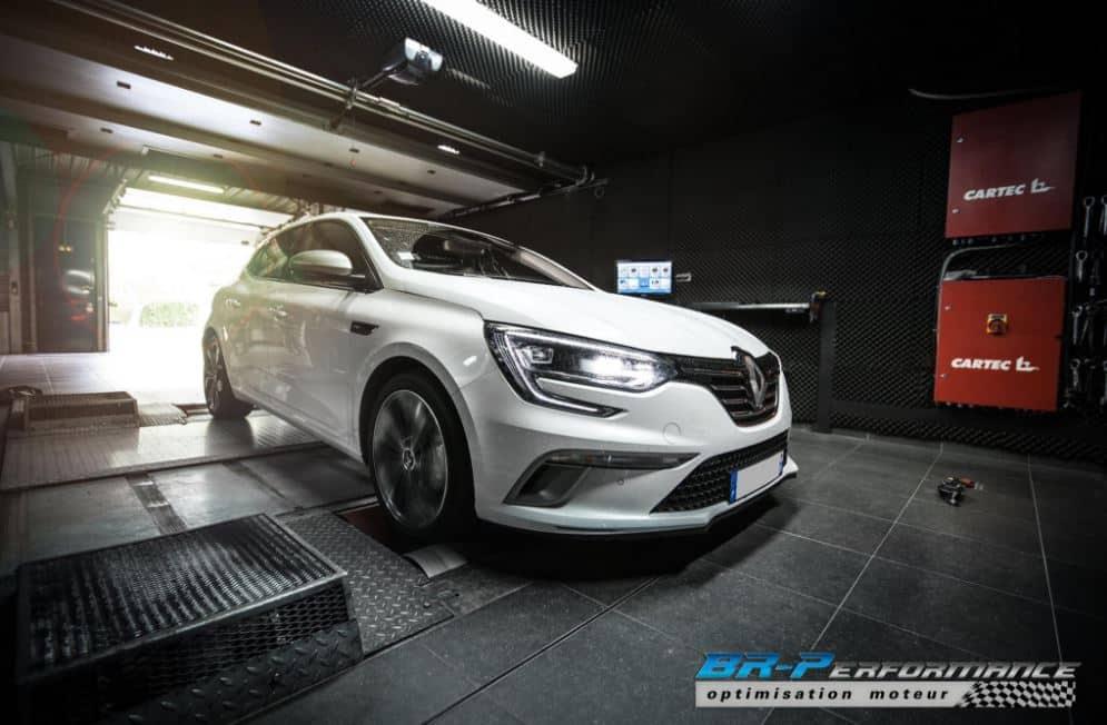 El 1.6 Energy dCi 130 CV del nuevo Renault Mégane pasa a 161 CV y 396 Nm de par gracias a BR Performance