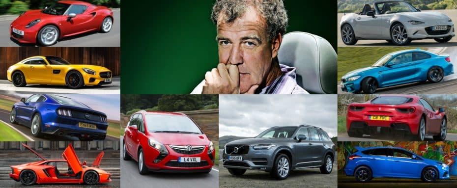 ¿Estás de acuerdo? Jeremy Clarkson afirma que estos son los 10 modelos más emocionantes actualmente