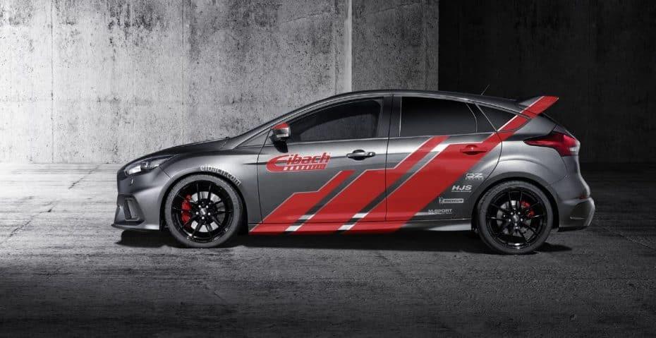 Así es el Ford Focus RS de Eibach: No todo iba a ser potencia y par, también hay espacio para otras cosas…