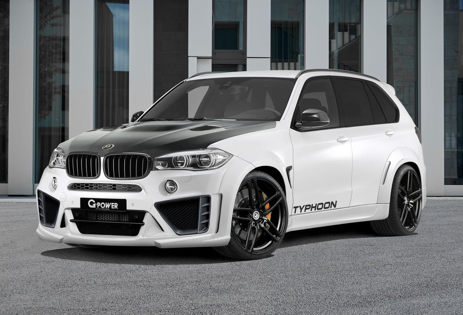 G-Power BMW X5 M Typhoon: ¡El SUV definitivo con 760 CV y un aspecto monstruoso!