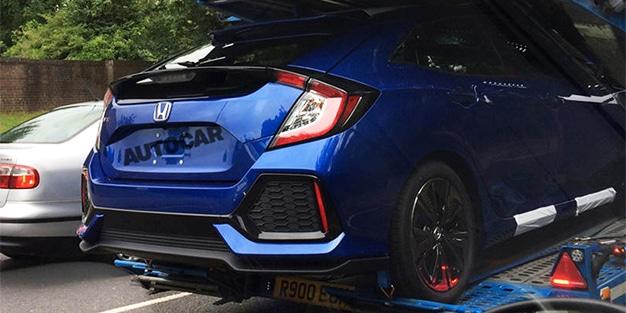 ¡Por fin un Honda Civic como el de USA!: La 10ª generación del compacto ya ha sido cazada por Europa