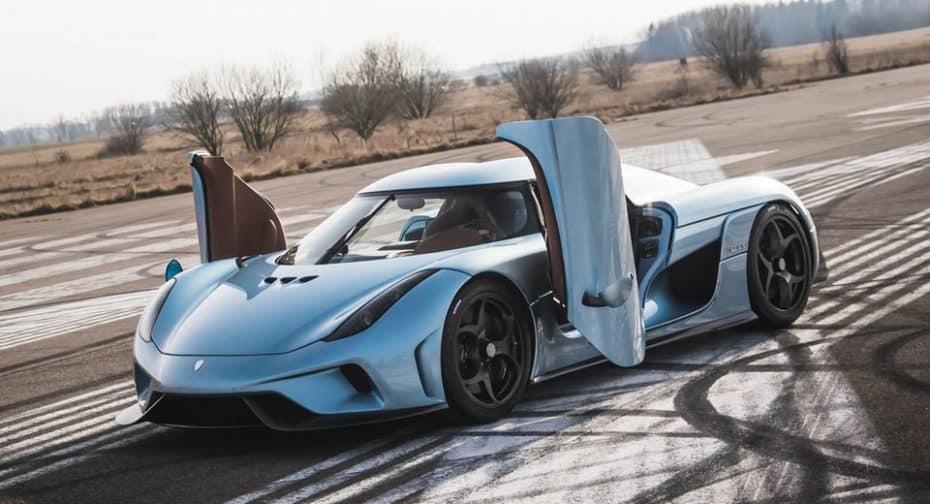Los mimos del Sr. von Koenigsegg a sus clientes ¡Les tiene hasta localizados por GPS en todo momento!